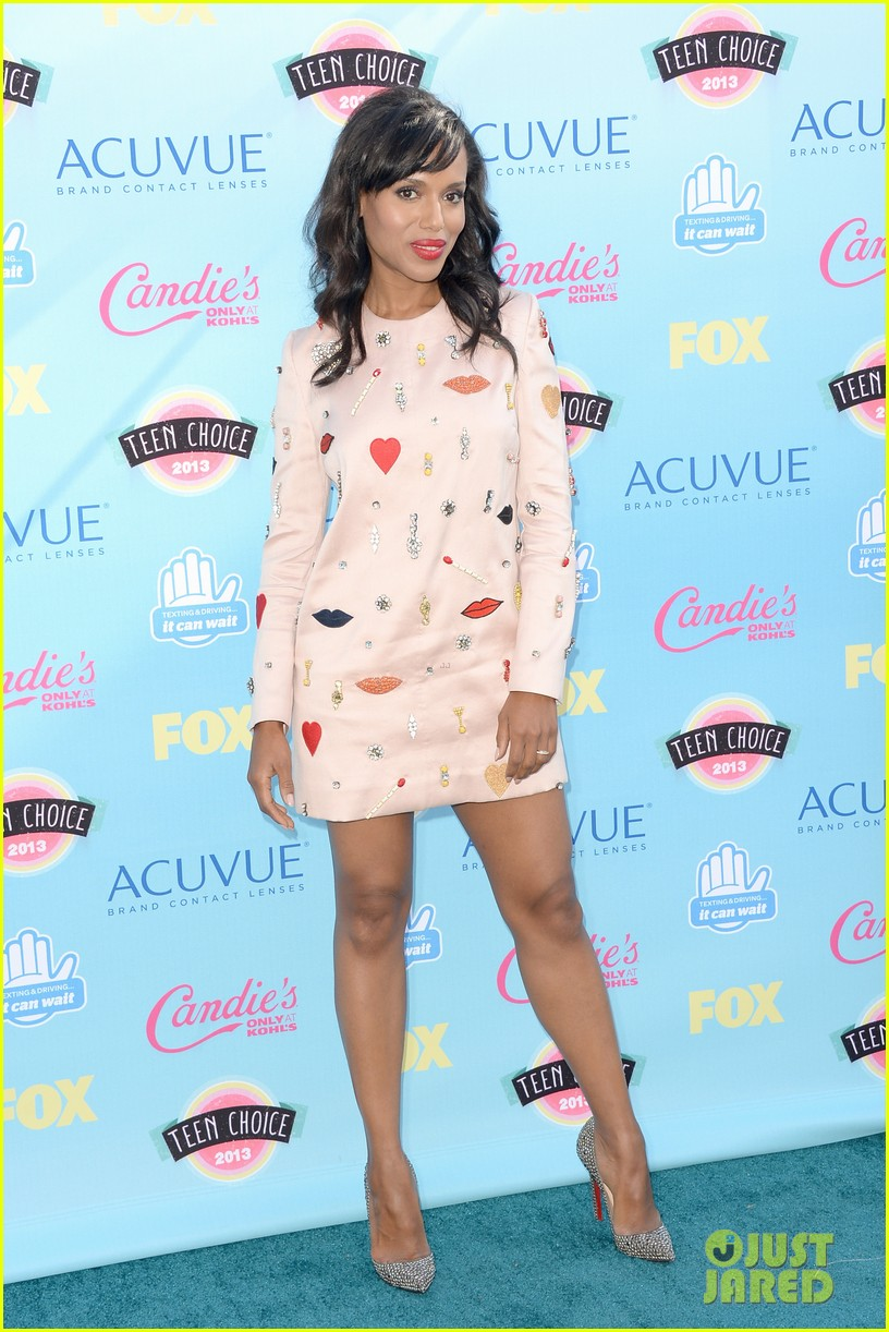 Kerry Washington - Teen Choice Awards 2013 Red Carpet