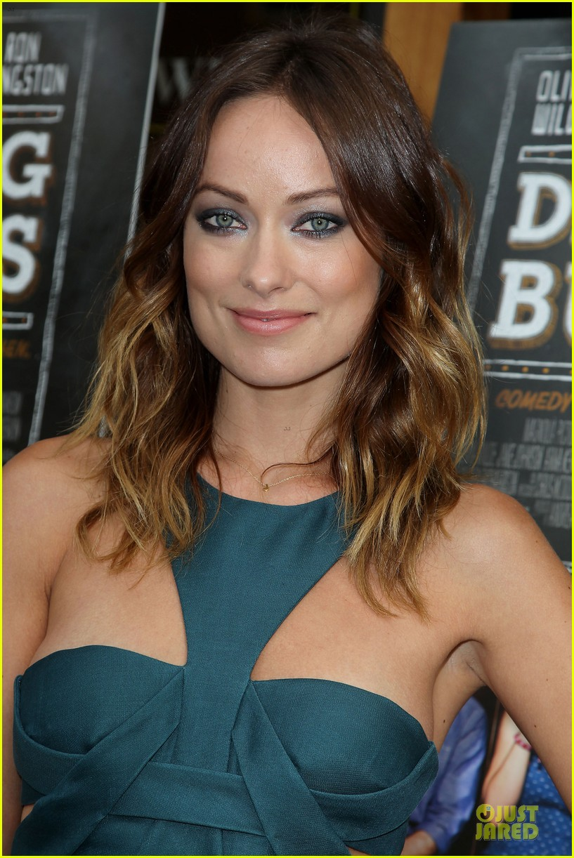 olivia wilde drinking buddies nyc screening 062933626