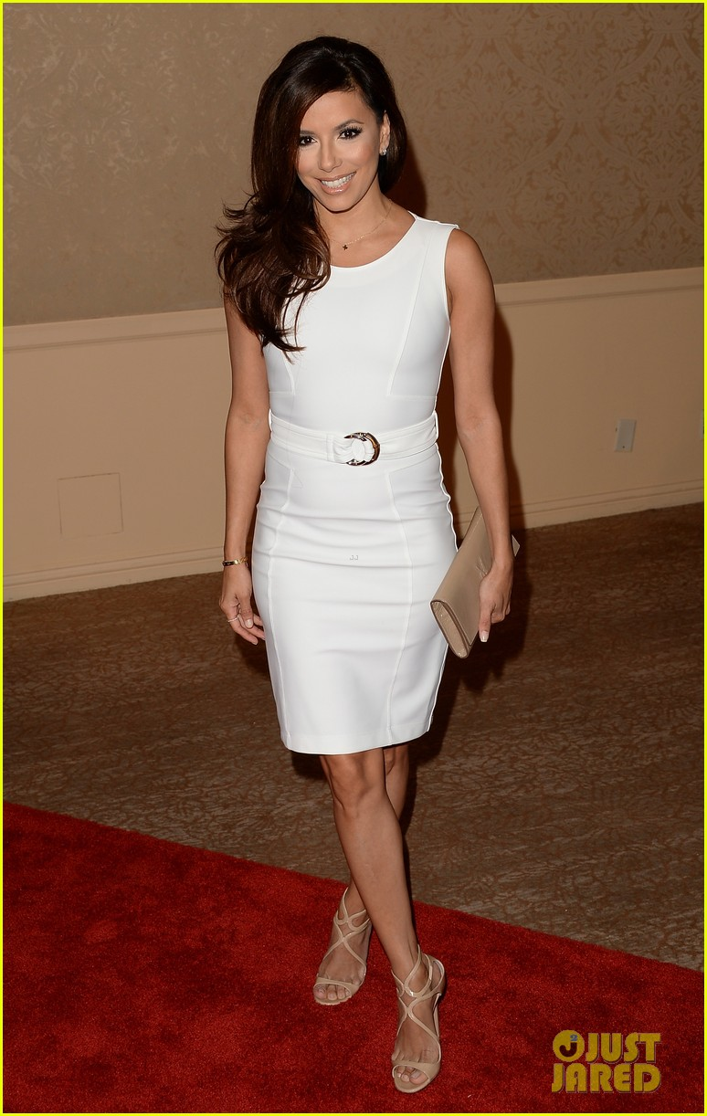olivia wilde eva longoria hfpa interstellar luncheon 2013 03
