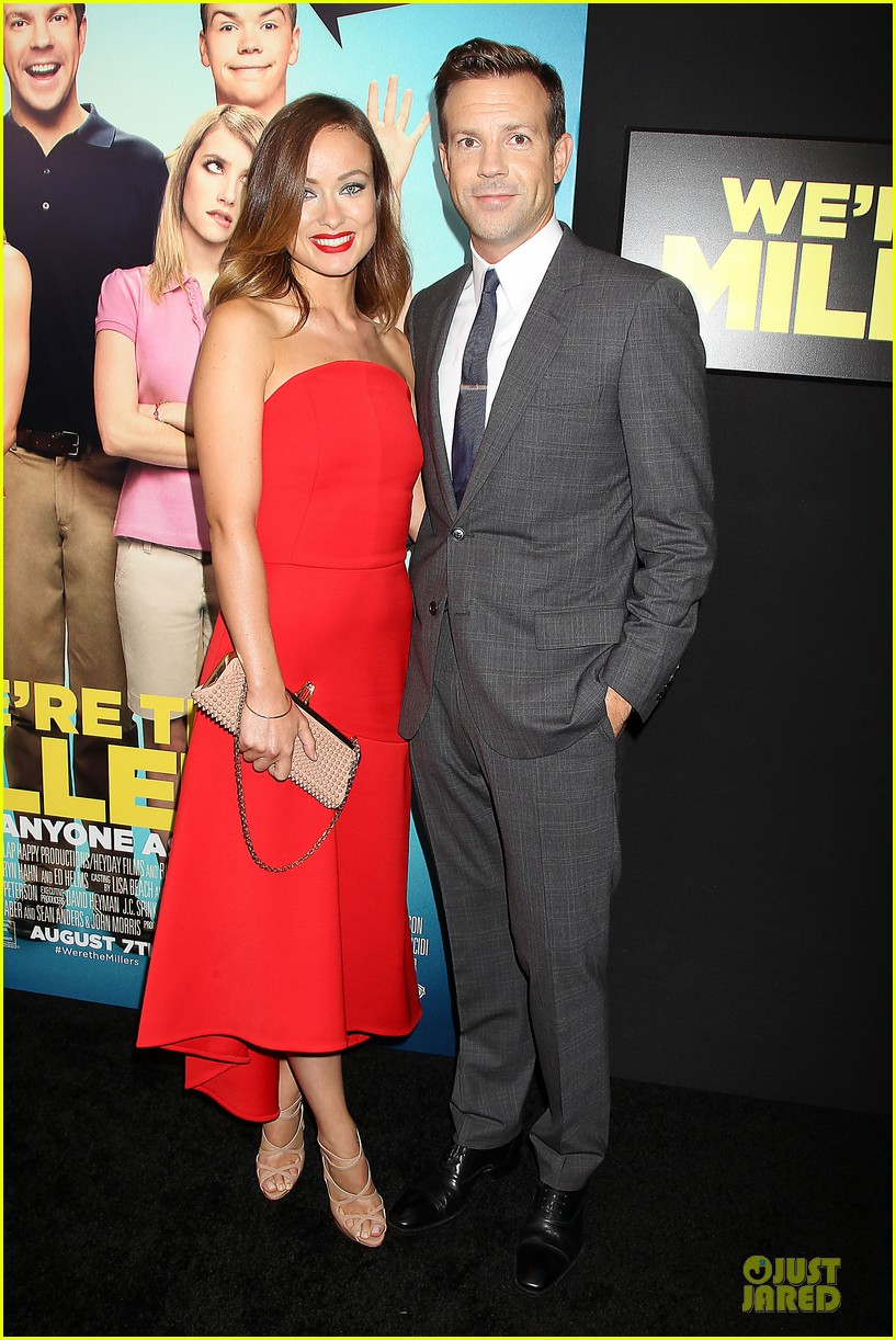 olivia wilde jason sudeikis were the millers nyc premiere 032921853