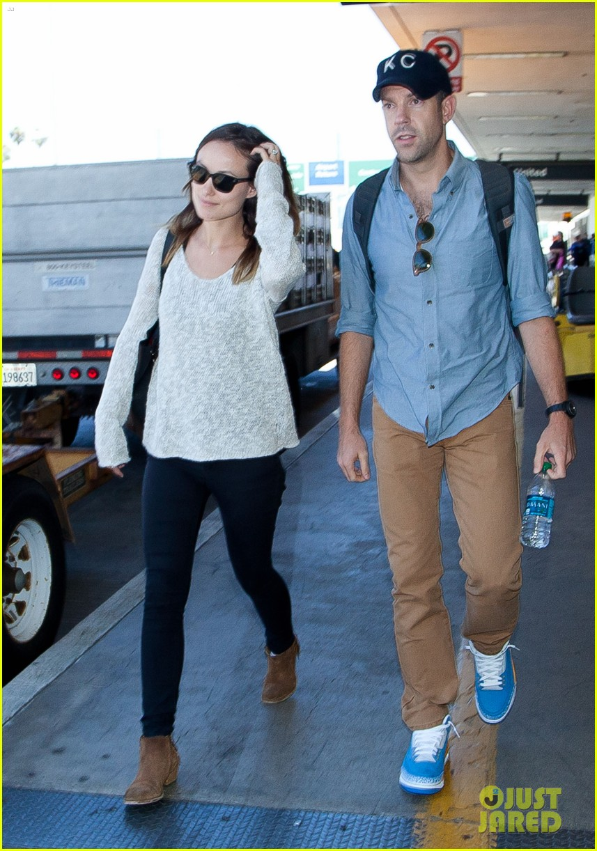 olivia wilde jason sudeikis from nyc to lax duo 022924713
