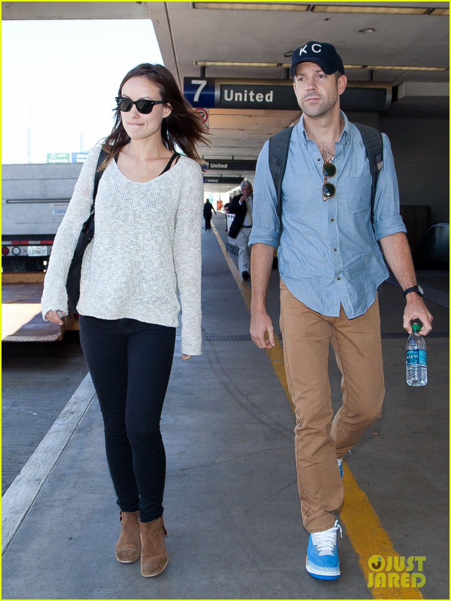 olivia wilde jason sudeikis from nyc to lax duo 062924717