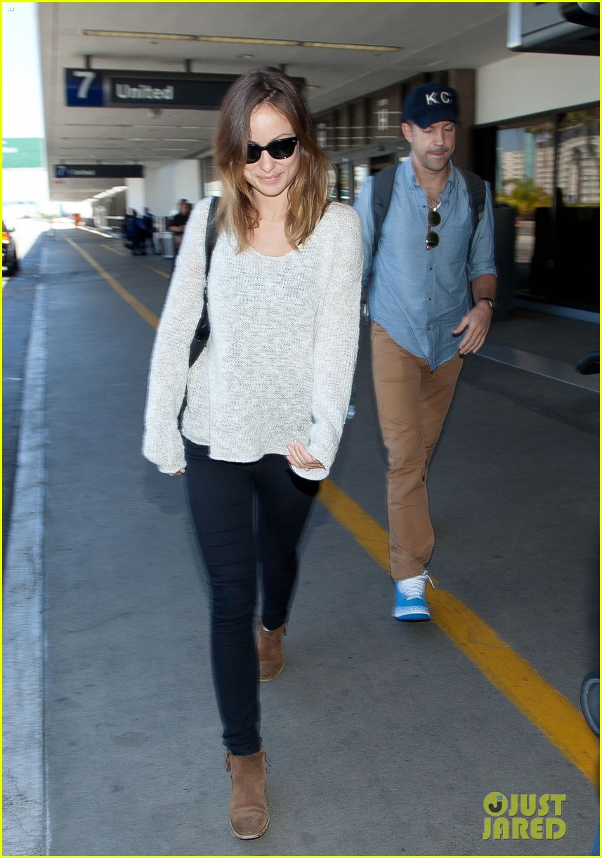 olivia wilde jason sudeikis from nyc to lax duo 102924721