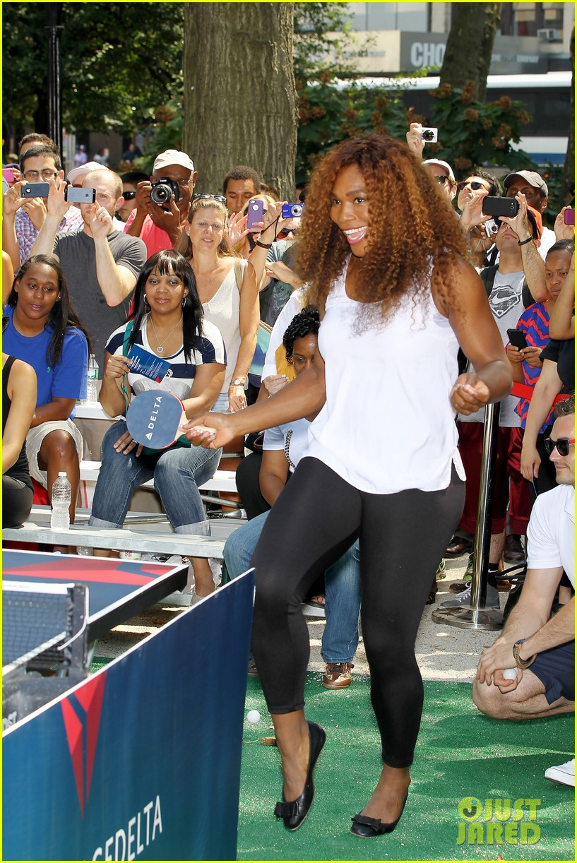 serena williams sports two hairstyles in one day 032935182