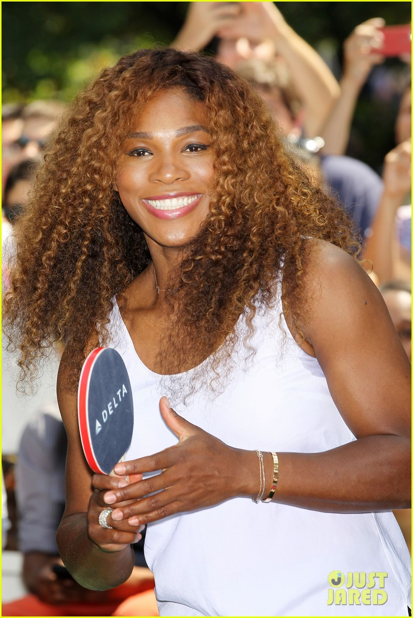 serena williams sports two hairstyles in one day 132935192