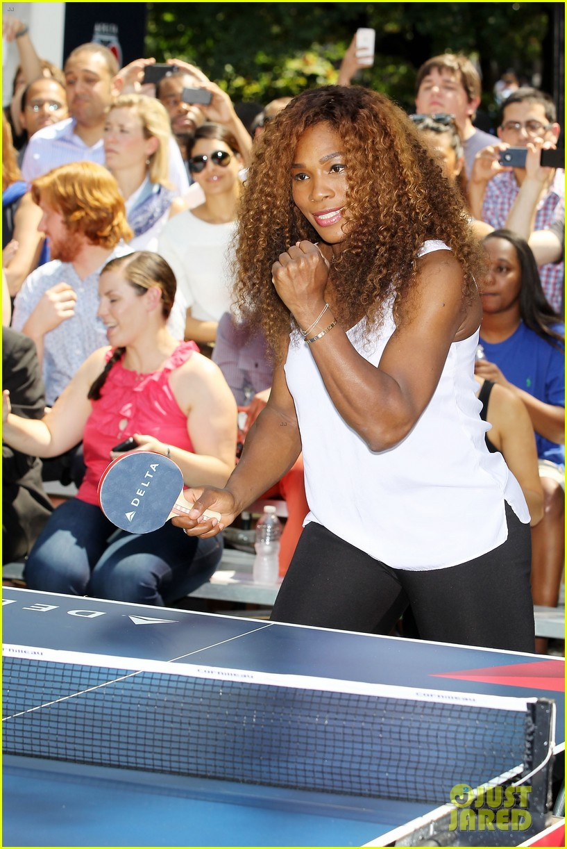 serena williams sports two hairstyles in one day 142935193