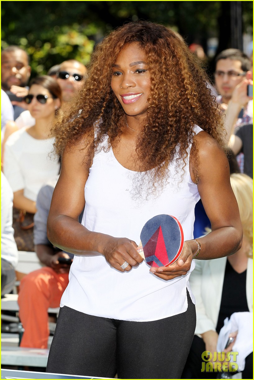 serena williams sports two hairstyles in one day 162935195