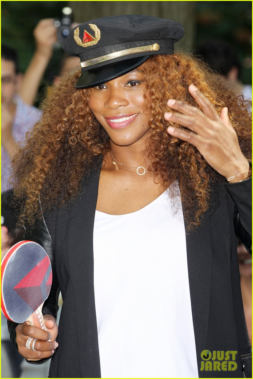 serena williams sports two hairstyles in one day 182935197