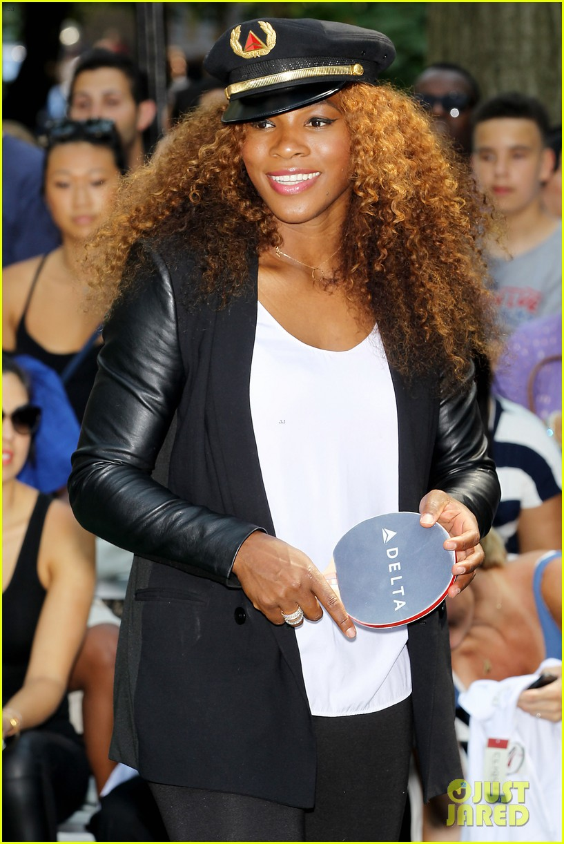 serena williams sports two hairstyles in one day 202935199