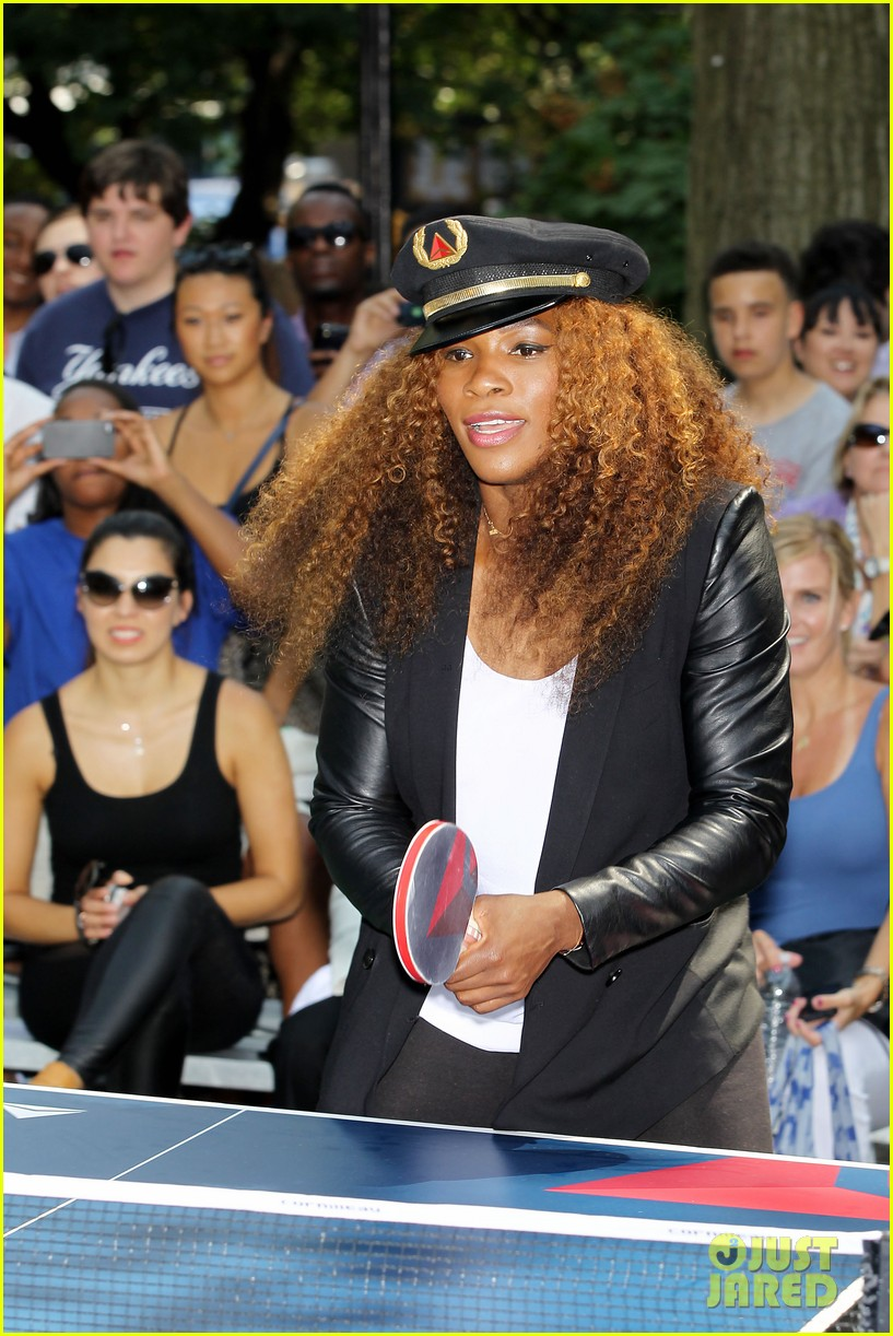 serena williams sports two hairstyles in one day 222935201