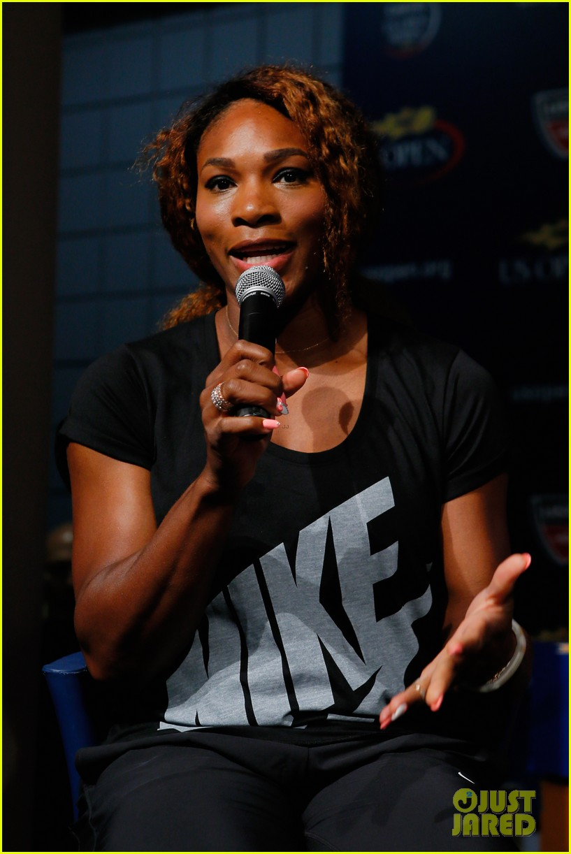 serena williams bnp paribas taste of tennis with venus 072935868