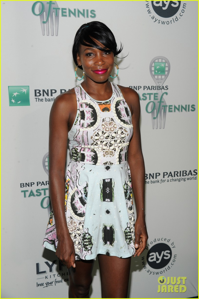 serena williams bnp paribas taste of tennis with venus 112935872