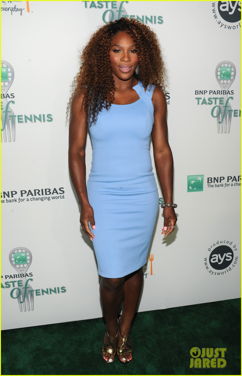 serena williams bnp paribas taste of tennis with venus 142935875