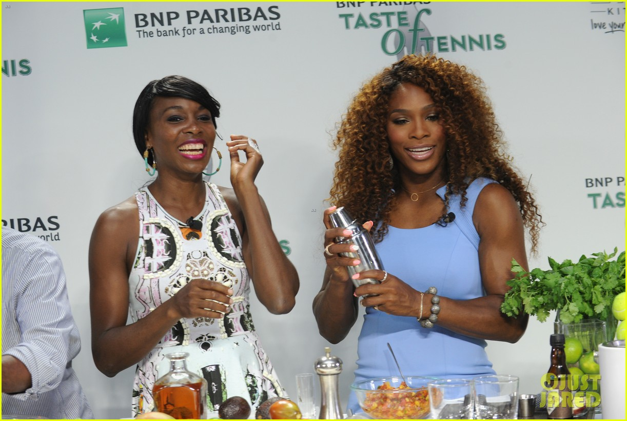serena williams bnp paribas taste of tennis with venus 172935878