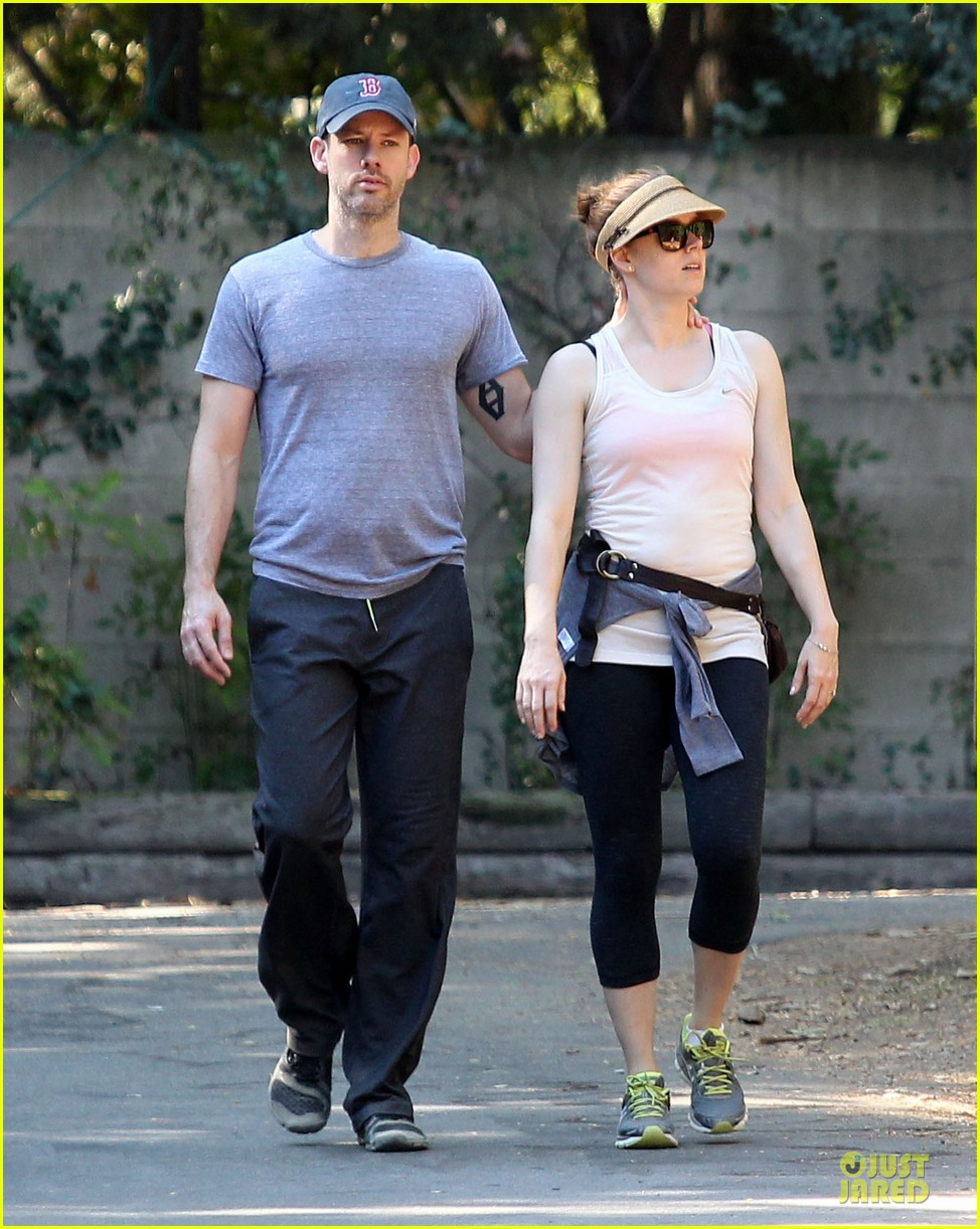amy adams darren le gallo start new week with hike 152954349