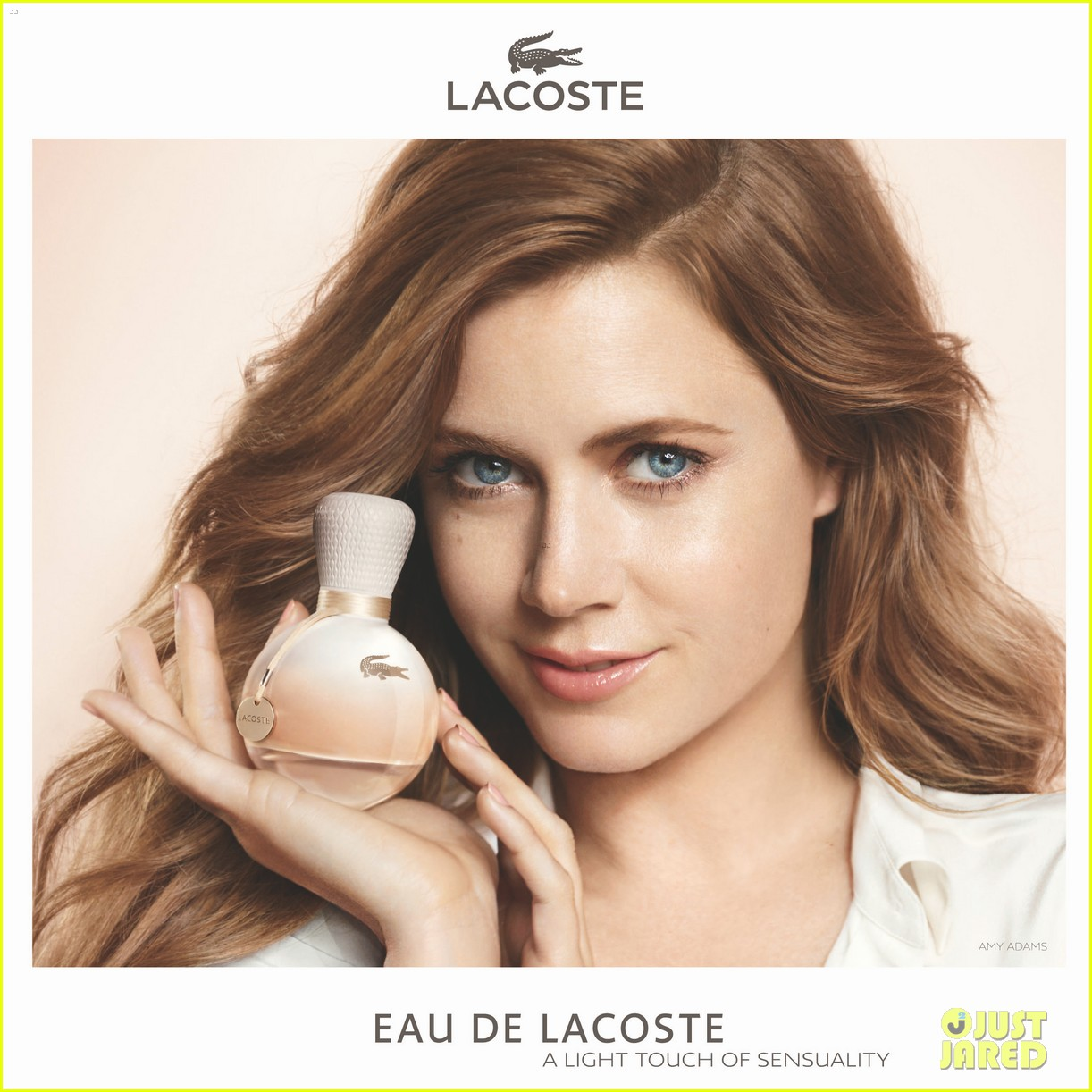 amy adams eau de lacoste fragrance campaign photos 032955519
