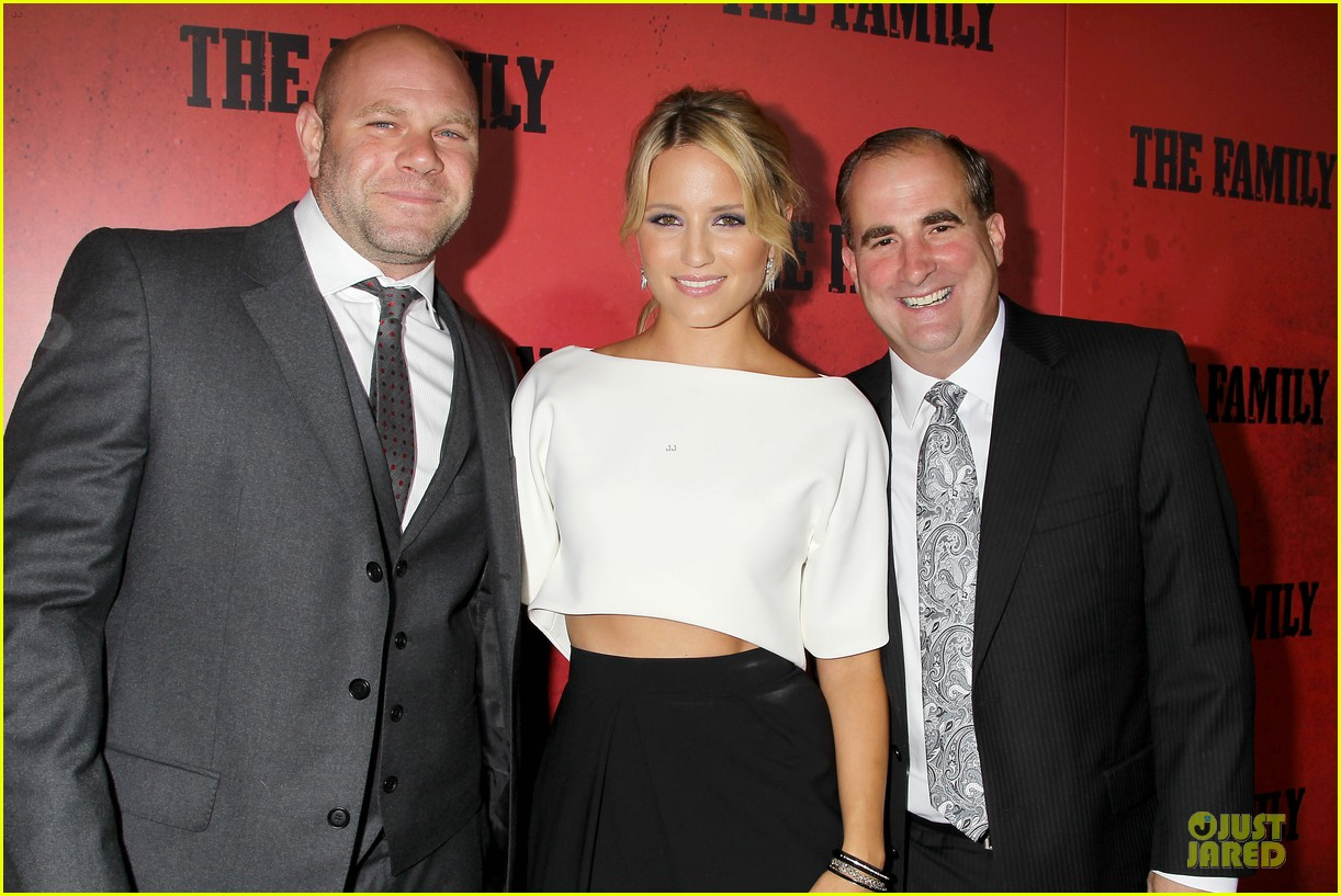 dianna agron michelle pfeiffer the family nyc premiere 142949707