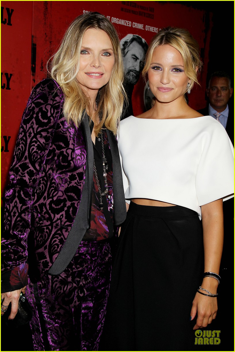 dianna agron michelle pfeiffer the family nyc premiere 242949717