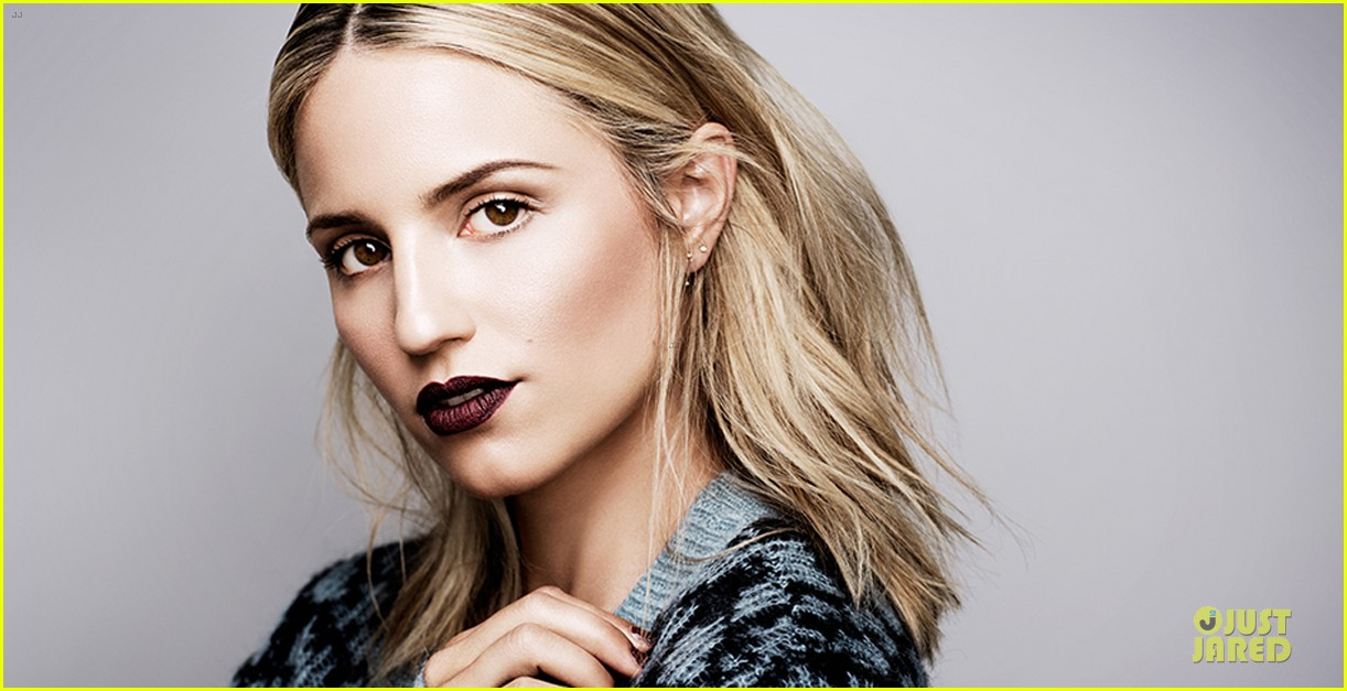 dianna agron i wear dark lipstick for special occasions 022951780