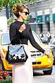 jessica alba nyc exit after ralph lauren fashion show 10