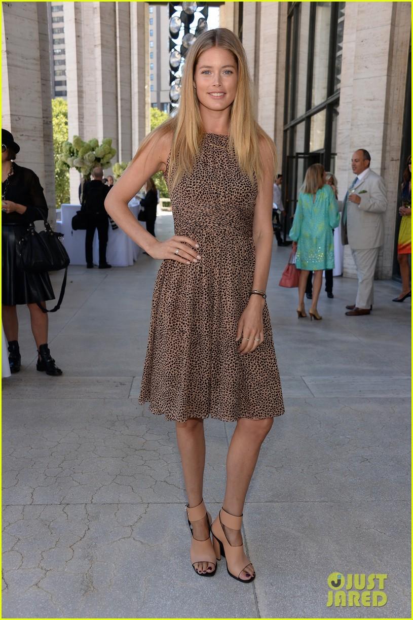 lily aldridge doutzen kroes couture lunch honoring michael kors 062943686