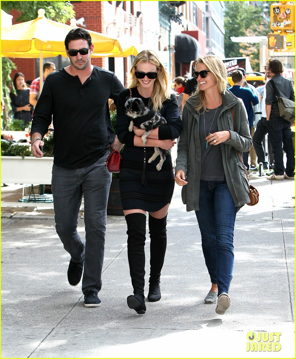 anne v matt harvey nyc lunch date twosome 142958600