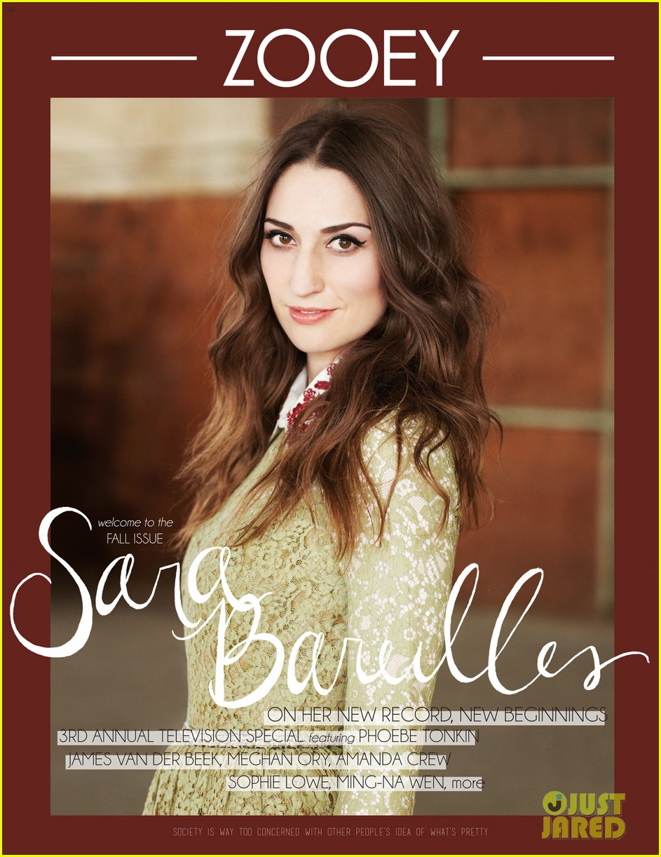 sara bareilles covers zooey magazine fall issue exclusive 032955845