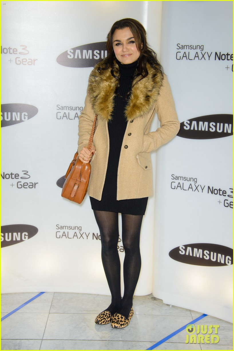 samantha barks ellie goulding samsung galaxy gear launch 142960148