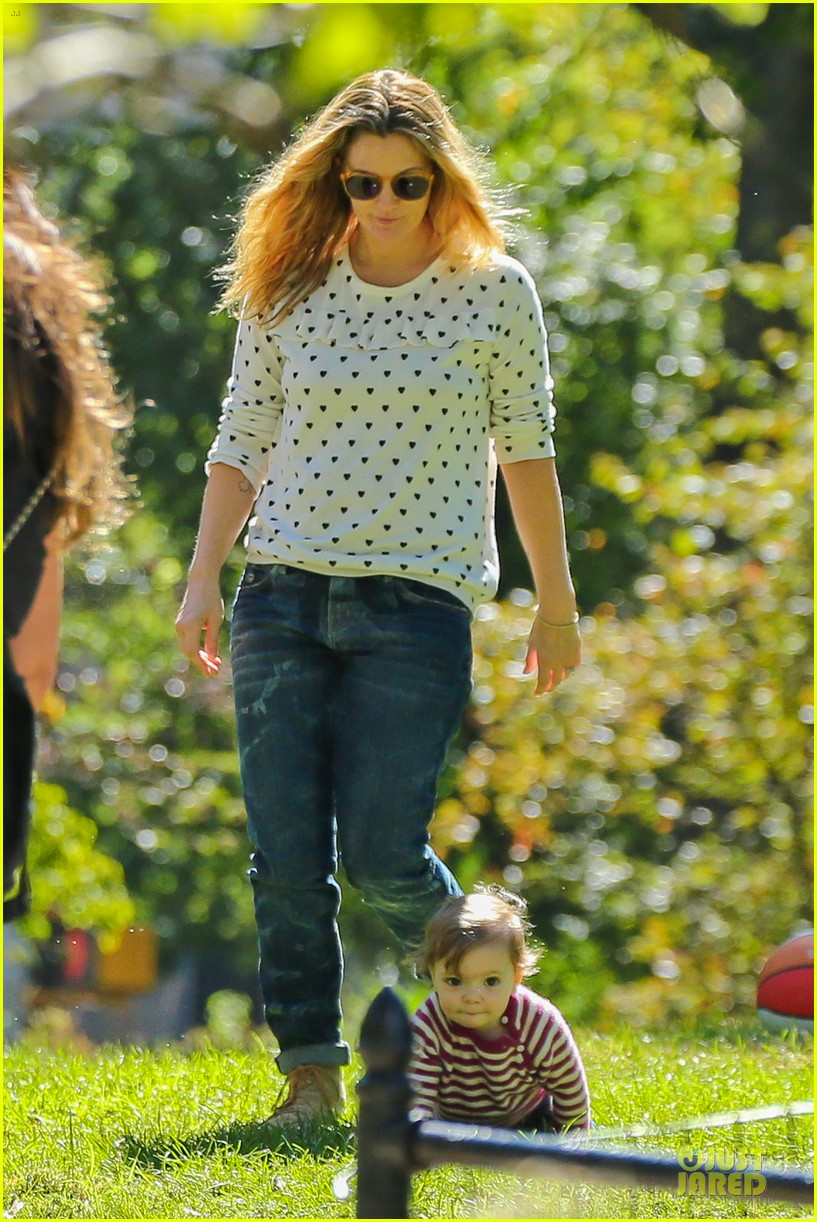 drew barrymore will kopelman central park fun with olive 052962217