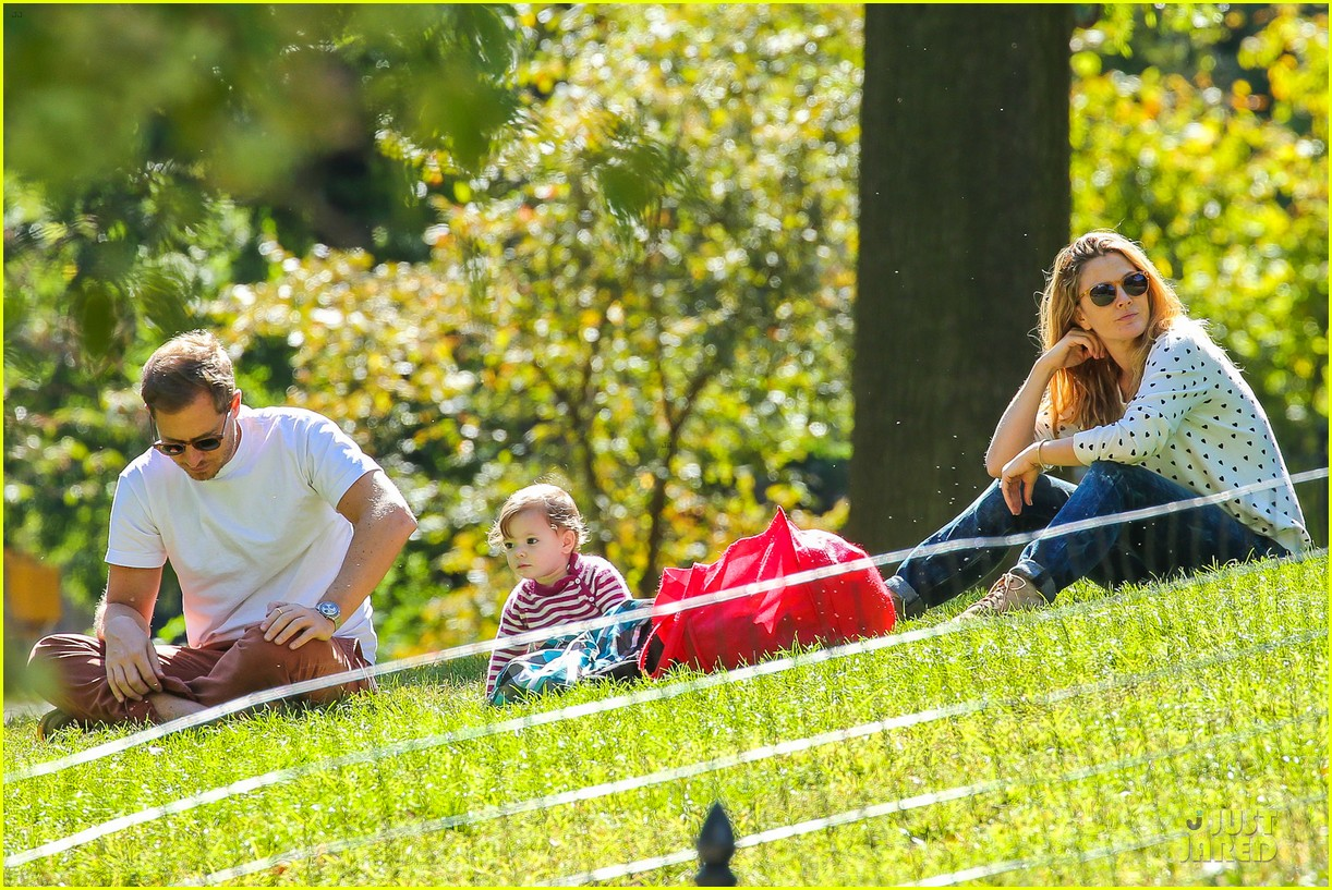 drew barrymore will kopelman central park fun with olive 072962219