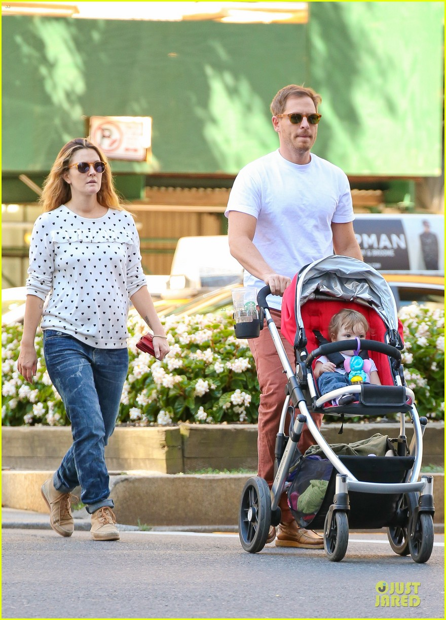 drew barrymore will kopelman central park fun with olive 152962227