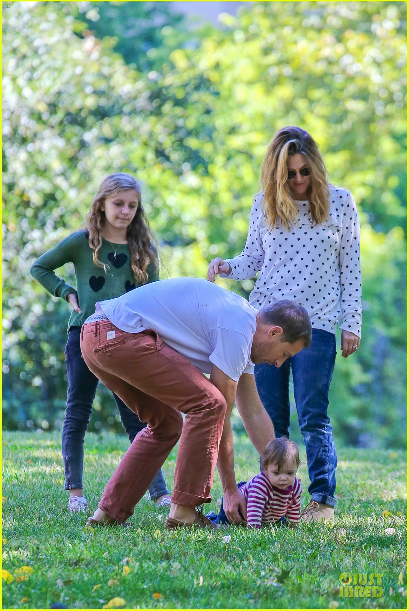 drew barrymore will kopelman central park fun with olive 202962232
