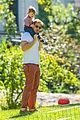 drew barrymore will kopelman central park fun with olive 30