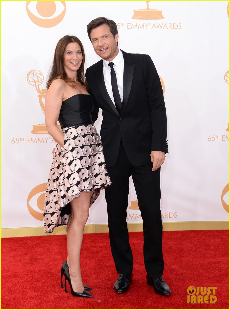 jason bateman will arnett emmys 2013 red carpet 072958370