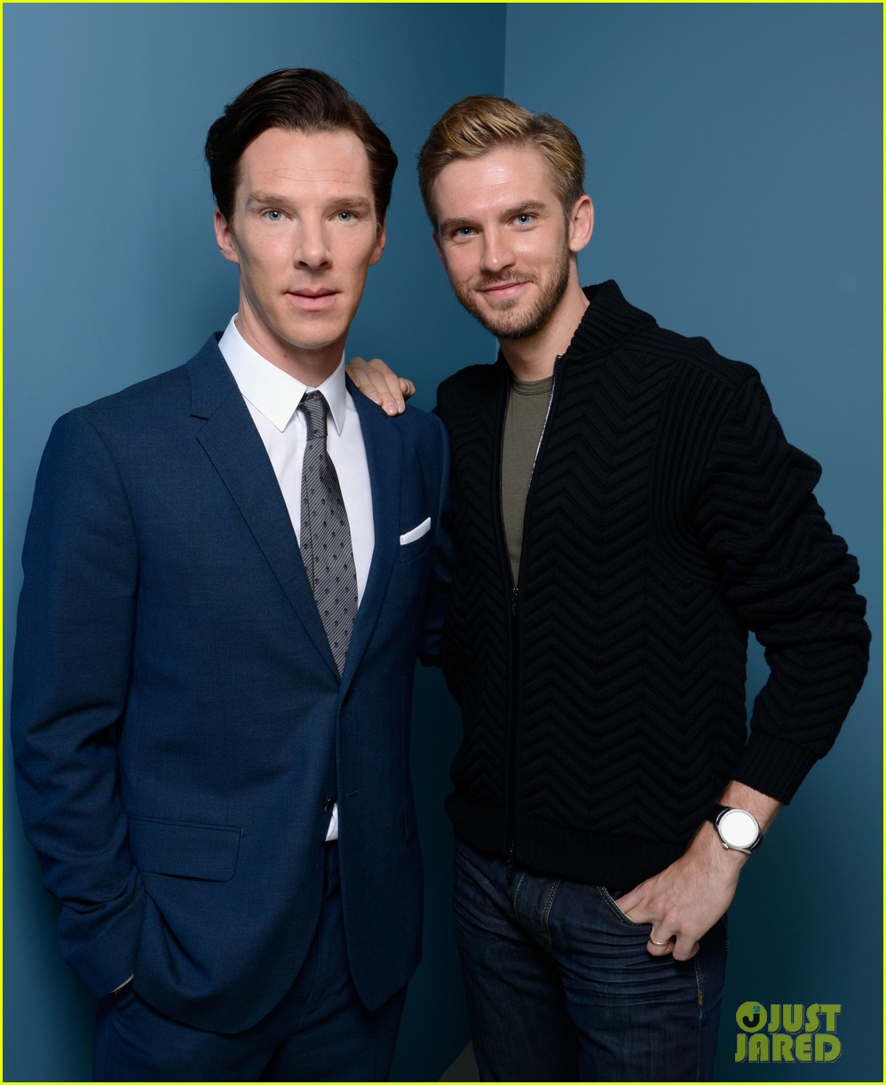 benedict cumberbatch david bruhl fifth estate portrait session at tiff 01