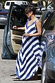 pregnant halle berry olivier martinez grove with nahla 13