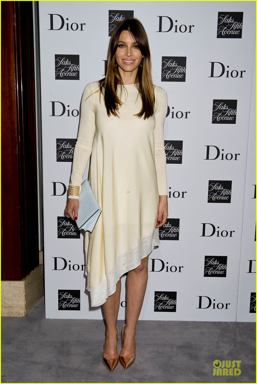 jessica biel ashley madekwe dior pret a porter dinner 062945844
