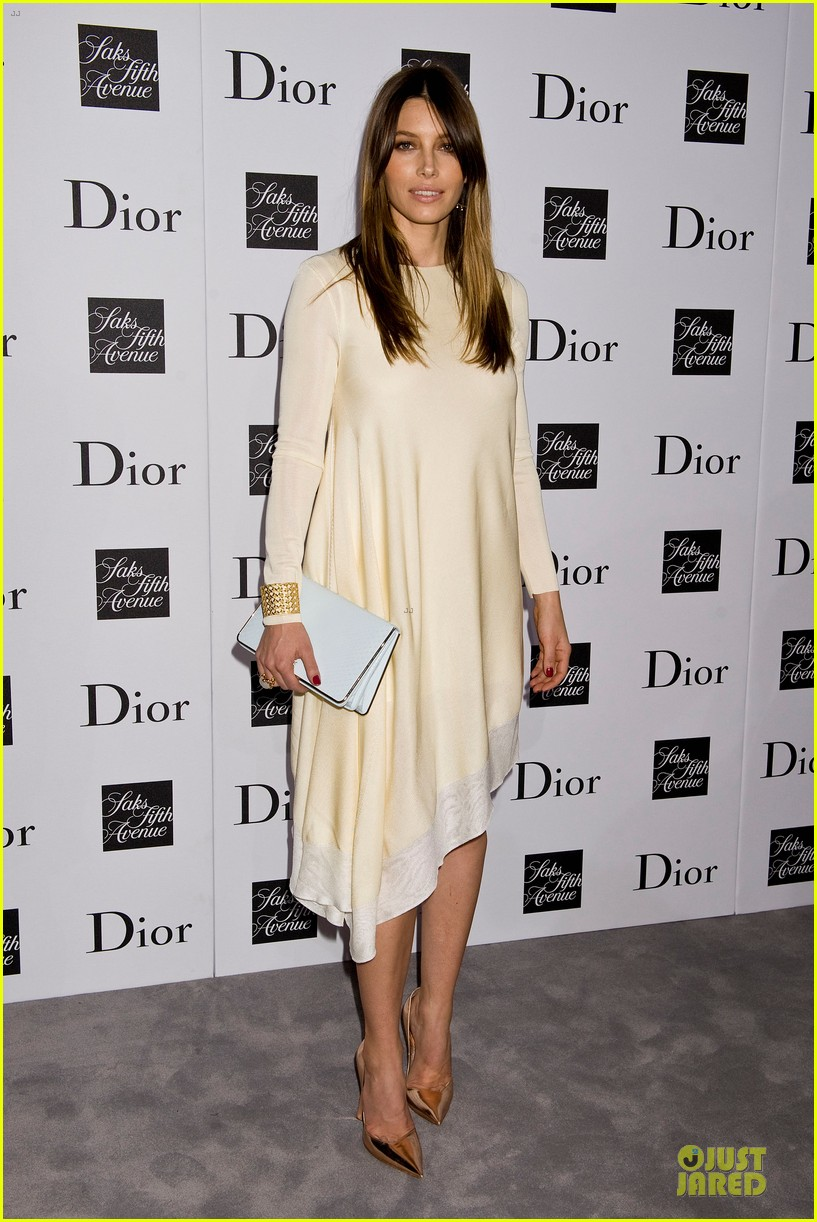 jessica biel ashley madekwe dior pret a porter dinner 072945845