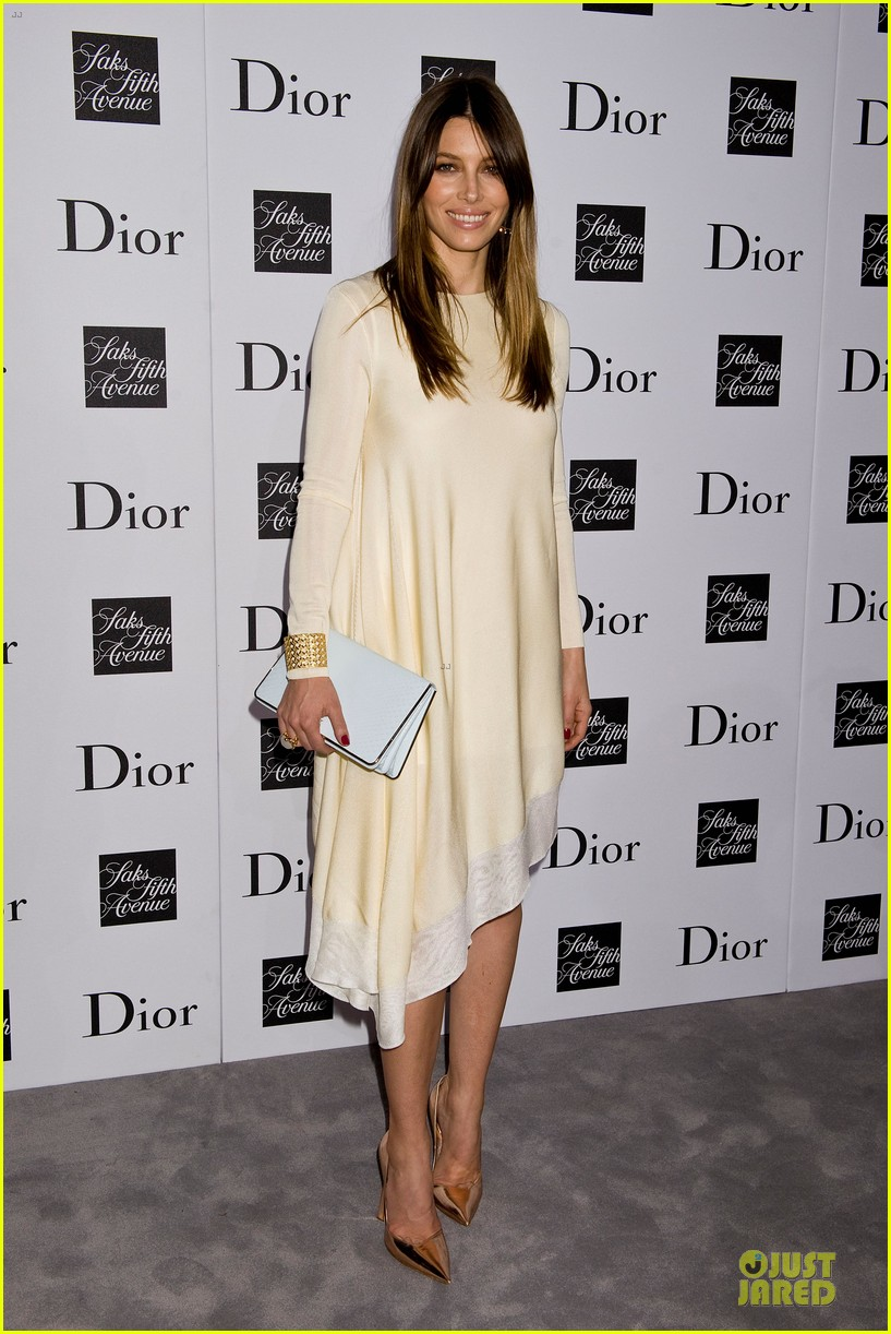 jessica biel ashley madekwe dior pret a porter dinner 082945846