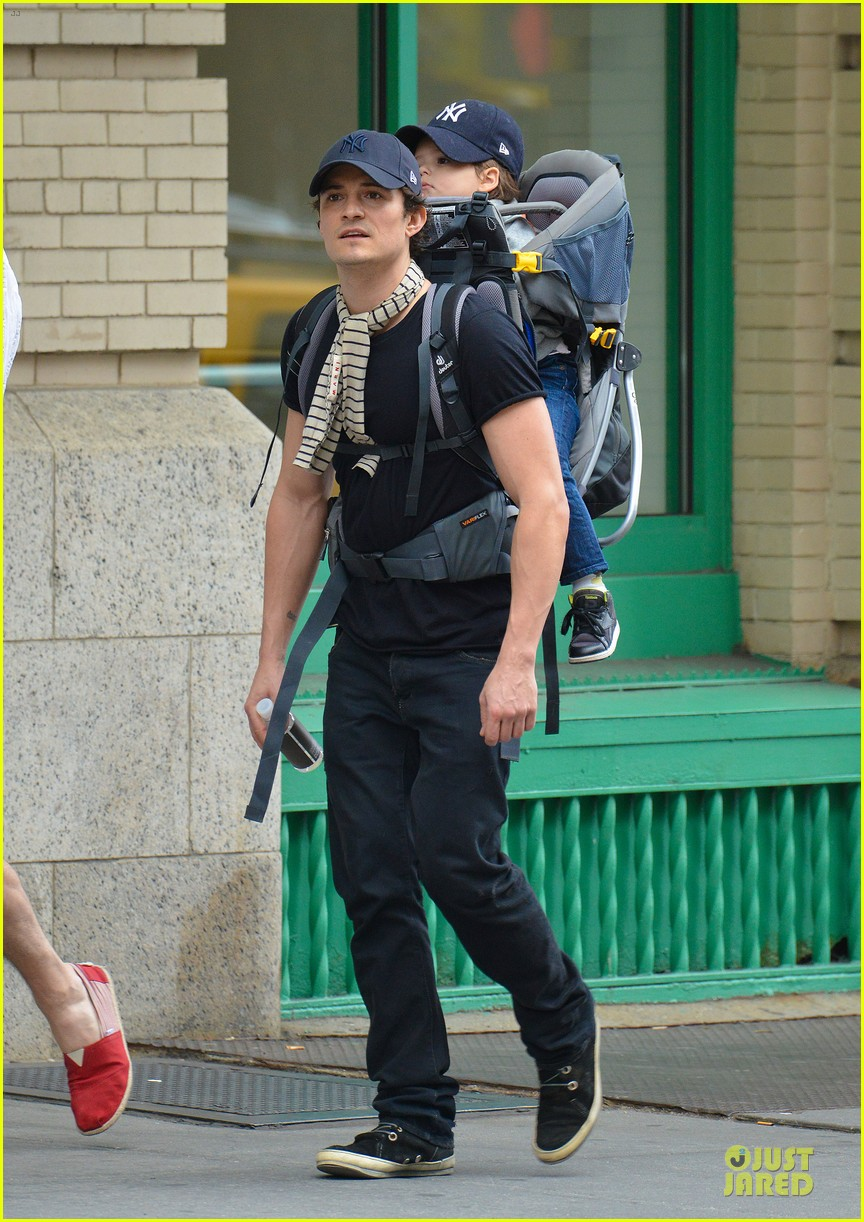 orlando bloom flynn matching new york yankees duo 012953710