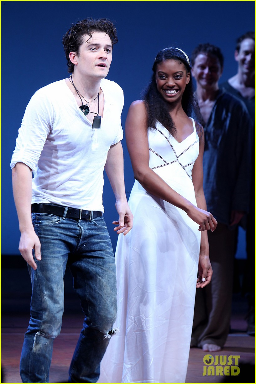 orlando bloom romeo juliet opening with condola rashad 06