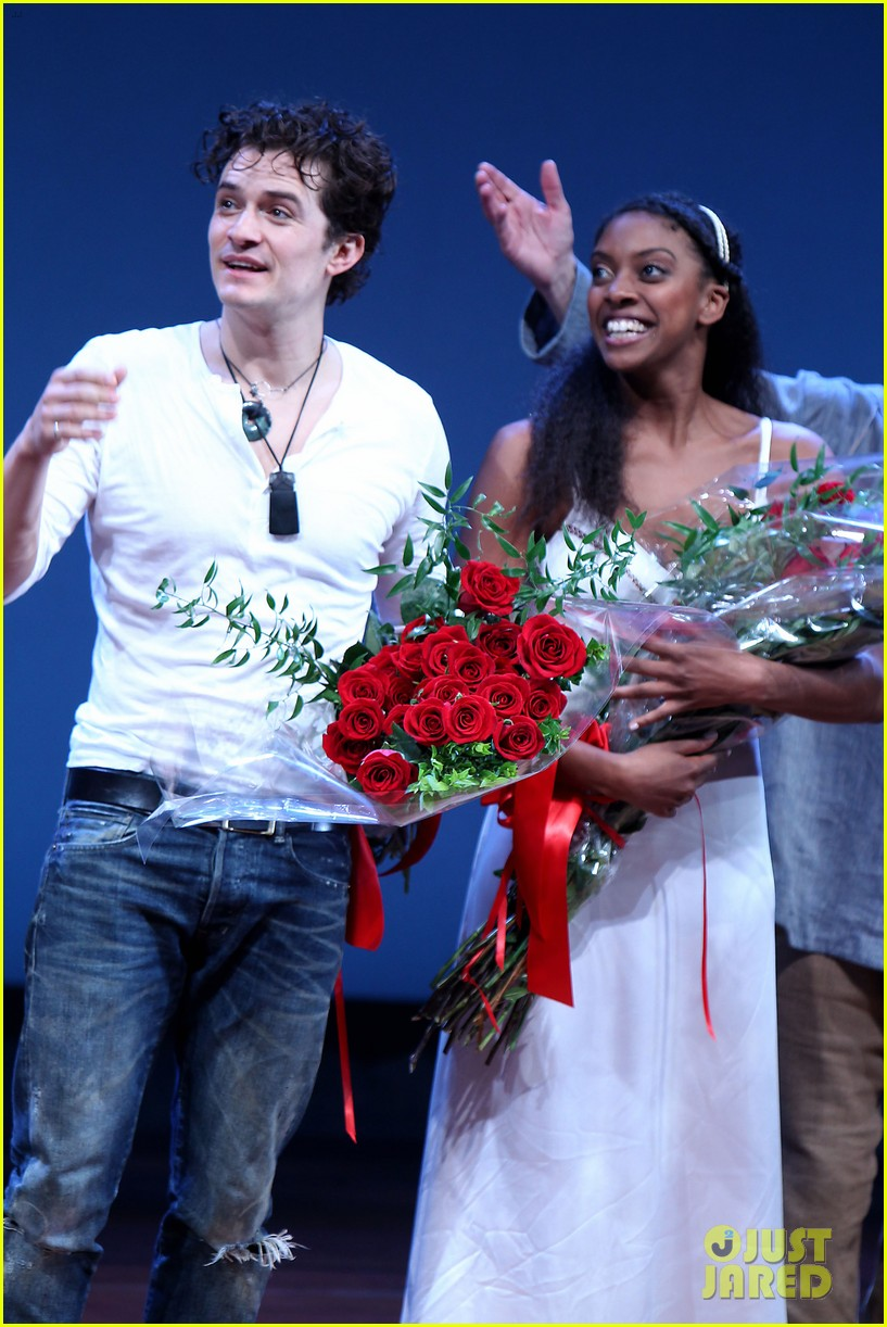 orlando bloom romeo juliet opening with condola rashad 07