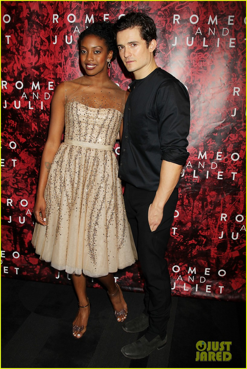 orlando bloom romeo juliet opening with condola rashad 082955796