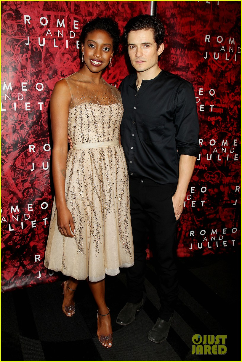 orlando bloom romeo juliet opening with condola rashad 10
