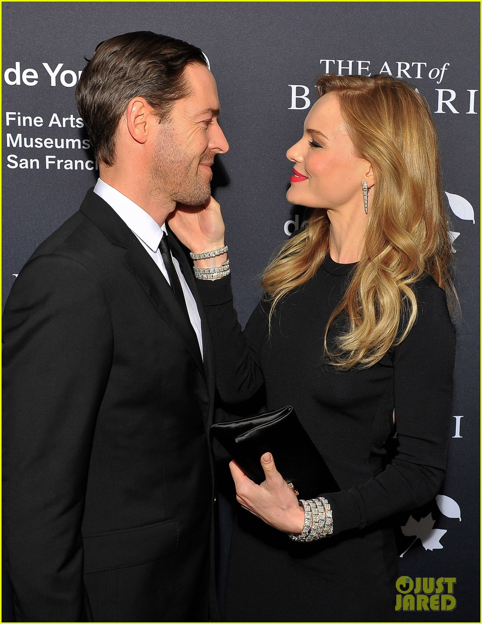 kate bosworth michael polish bvlgari retrospective opening 032955179