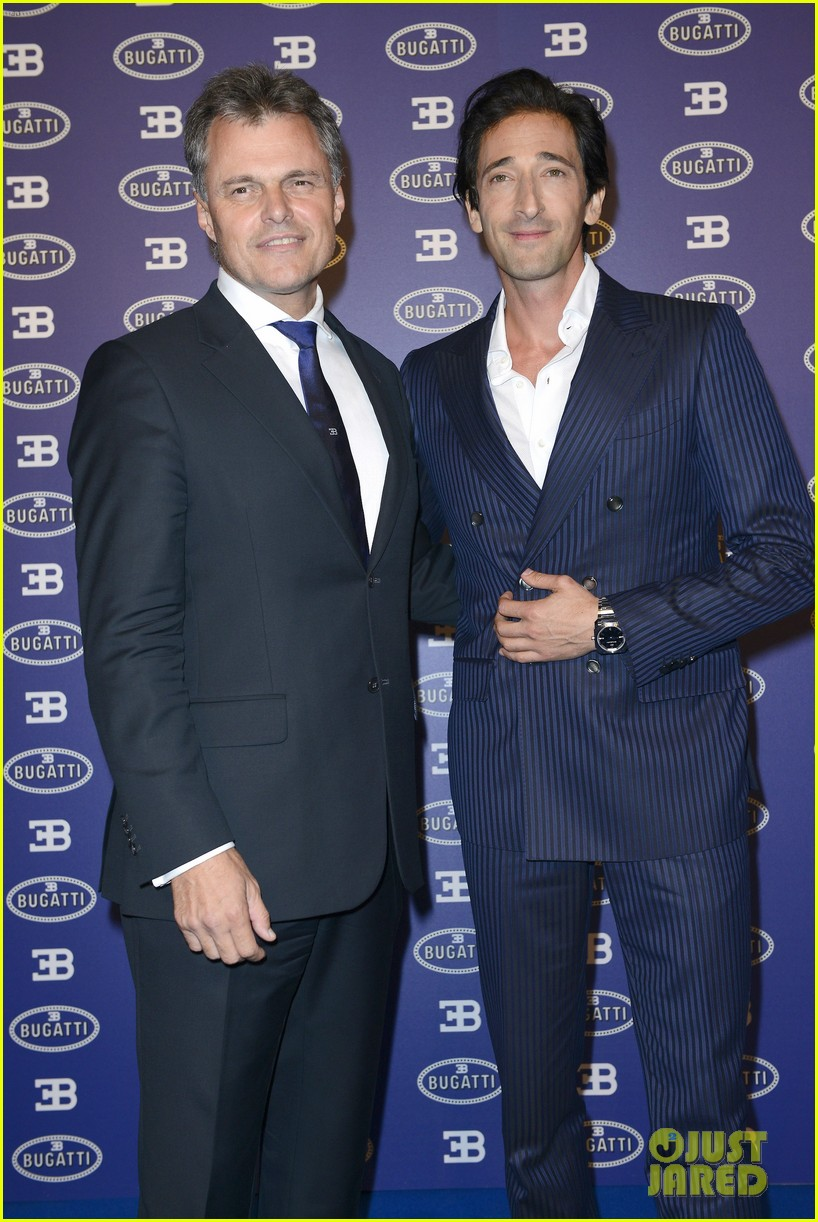 adrien brody bugatti lifestyle collections launch 012955982