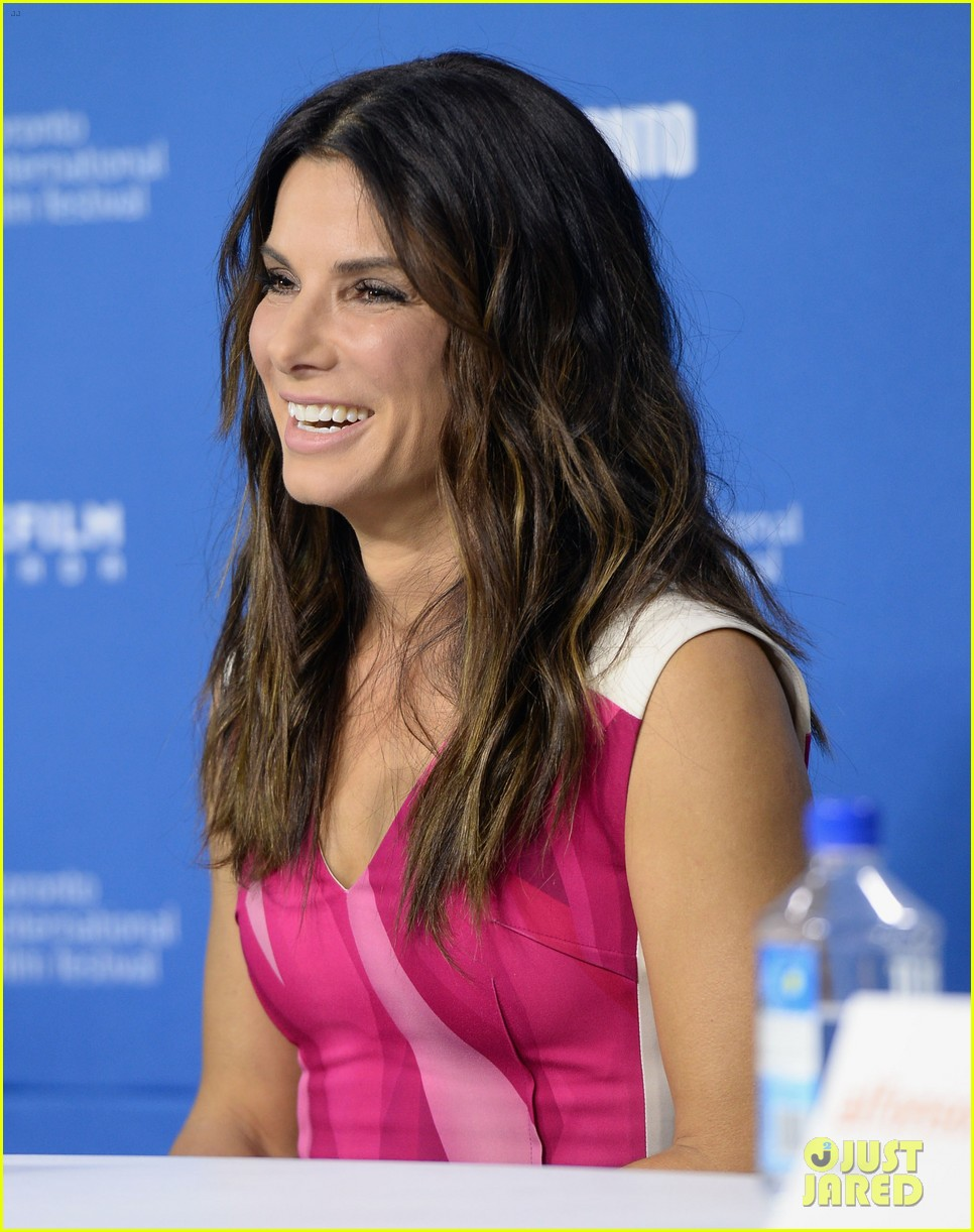 sandra bullock gravity tiff press conference 142948141