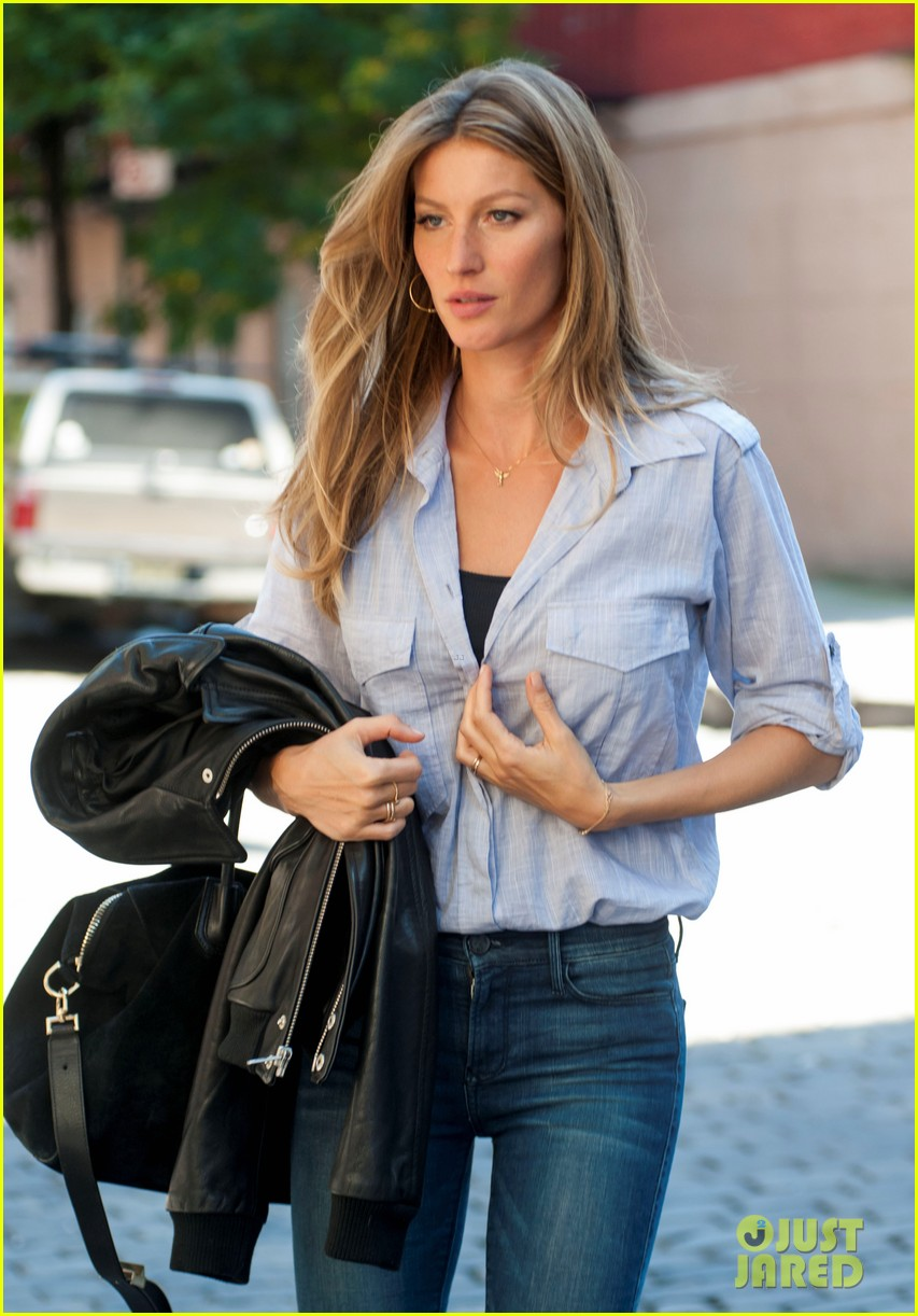 gisele bundchen proud of harry joshs eco friendly hair dryer 032956119