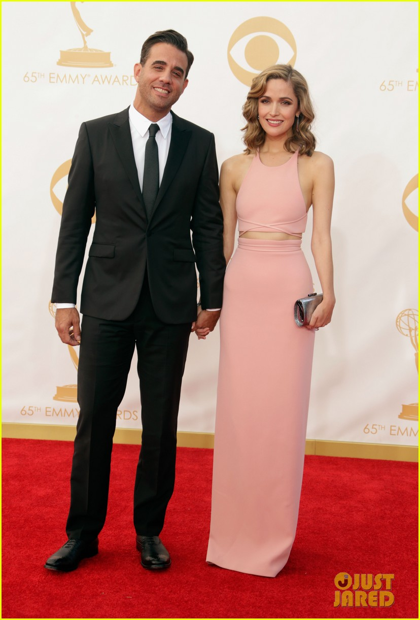 rose byrne bobby cannavale emmys red carpet 022958279