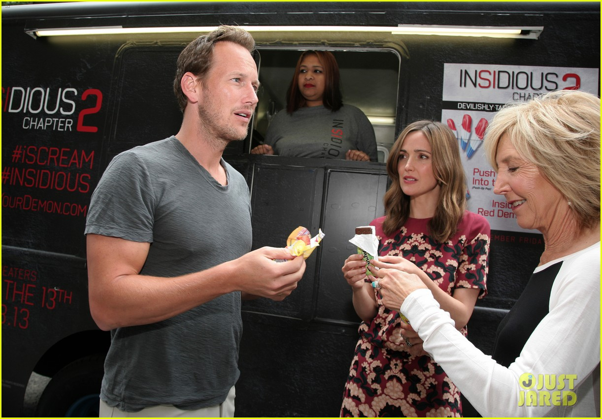 rose byrne patrick wilson promote insidious chapter 2 022945198